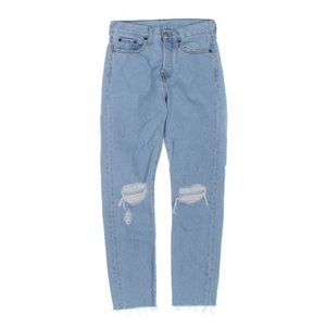 Levi's 501 Ripped Knee Skinny Jeans